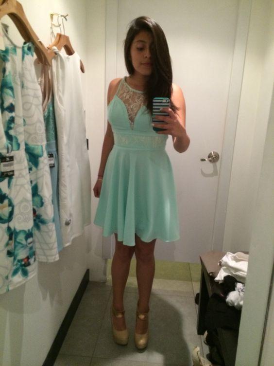 Vestido Menta #vestido #dress