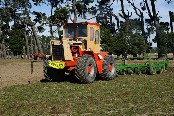 1968 Case Traction King 1200 Tractor.