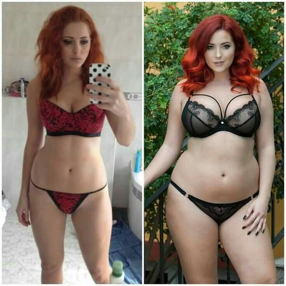 """Lucy Vixen """"Left 4 years ago. Right 2016. How to get this fabulous body in just 4 years! Here is my step by step guide. STOP over exercising because you think you're…"""""""