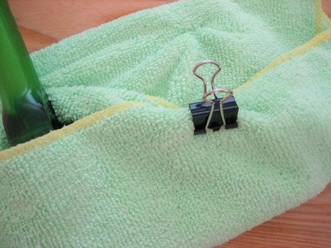 Swiffer Cleaning Hacks for Cheaper Dust-Free Living- Use microfiber clothes.