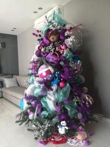 Arbolitos de navidad infantiles doc mcstuffins frozen - Arbol de navidad infantil ...