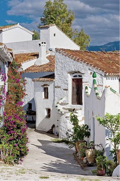 House In Malaga Andalusia Spain Places To Visit Pinterest The White Malaga And Cars