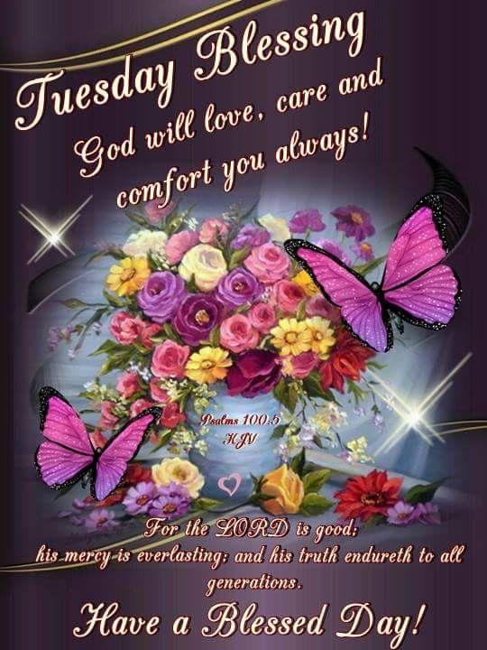 Tuesday Blessings Tuesday Greetings Happy Tuesday Quotes