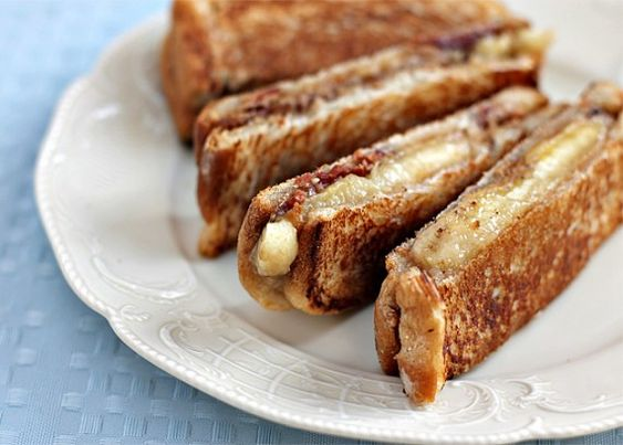 Elvis Panini...Peanut butter, banana, bacon