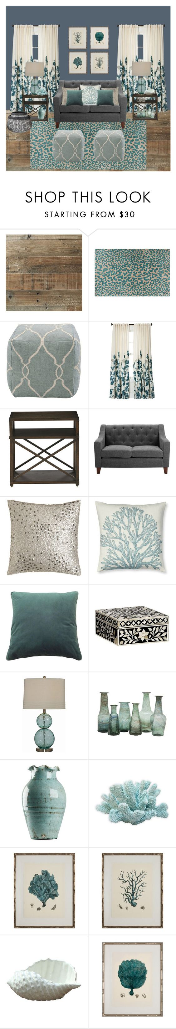 Threshold home decor shop for threshold home decor on polyvore -  Beach House Living Room By Tinky3buggs Liked On Polyvore Featuring Interior Interiors Interior Design Home Home Decor Interior Decorating