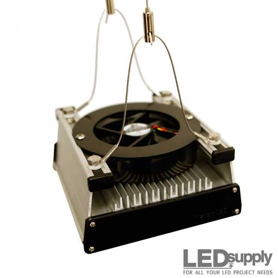 Diy led grow lights with cree cxa3070 cobs and cpu coolers ledsupplys led grow kit is an affordable way to build yourself a high quality led grow solutioingenieria Gallery