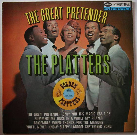 "Bathroom Stall Lyrics lyric of the week >the platters, ""the great pretender"", american"