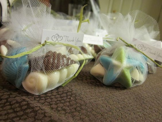 DIY Chocolate Seashell Candies Perfect For Wedding Favors