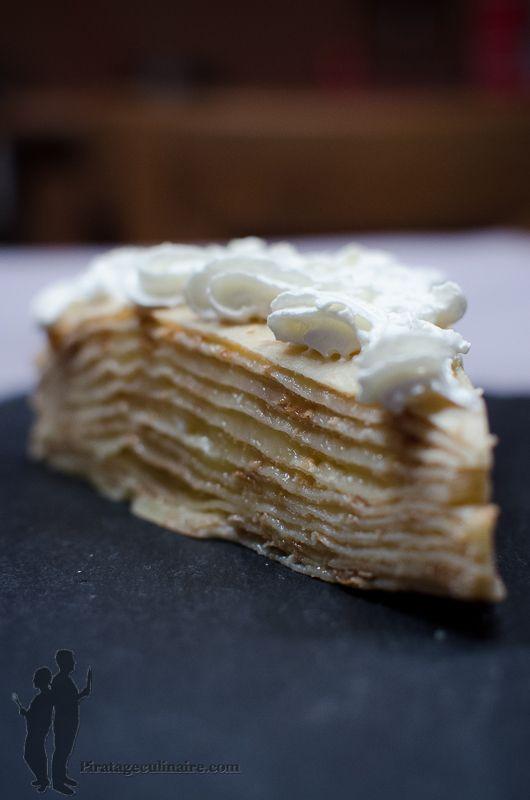 Gâteau de crêpes au lemon curd | Piratage Culinaire