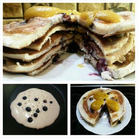 meine neuen Protein Pancakes sind #proteinreich und Low Carb. Das #Rezept dazu morgen in meinem blog #tacosfitnessblog