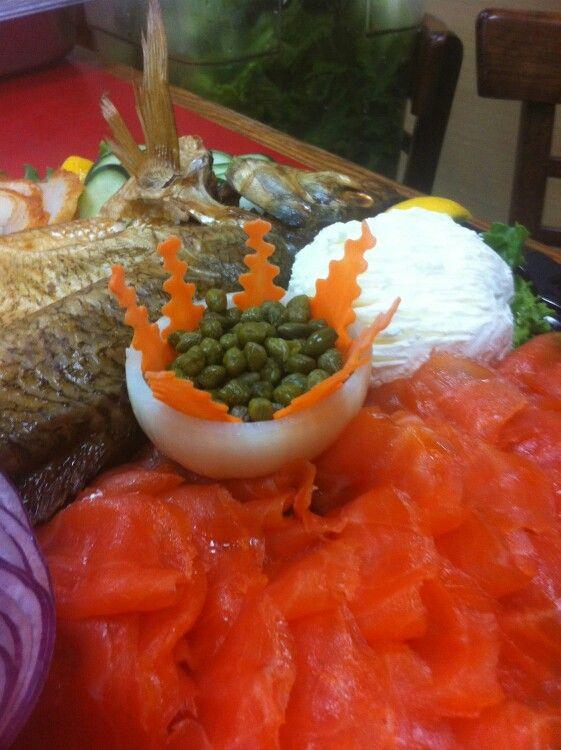 Fish plattet