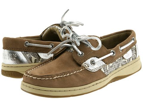 Sperry Top-Sider Bluefish 2-Eye Greige/Leopard (Sequins) - Zappos.com Free Shipping BOTH Ways