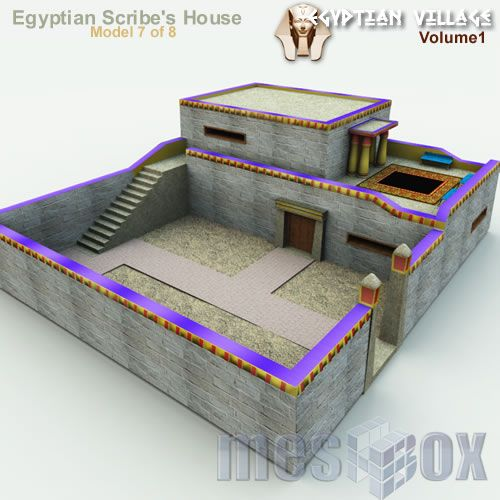 Image result for ancient egypt houses ancient egypt Pinterest