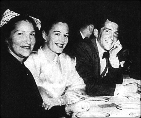 Angela Crocetti ( Dean's mom ) ,Betty ( Dean's first wife ) and Dean Martin