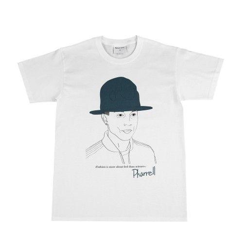 "colette MAISON SEINE T-Shirt ""Pharrell"""