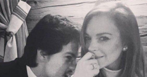 Is Lindsay Lohan Really Engaged to Egor Tarabasov? #inewsphoto