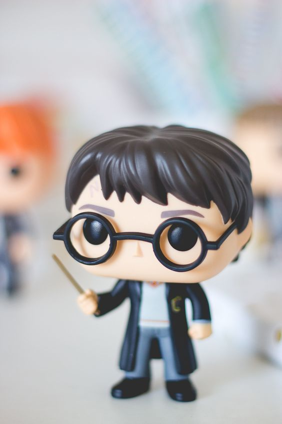 Funko Pop do Harry Potter da série Harry Potter. Post sobre com detalhes e fotos no blog Serendipity: http://melinasouza.com/2015/08/24/funko-pop-harry-potter-hermione-ron-snape-e-valdemort/: