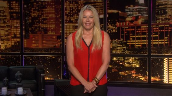 "Chelsea Handler wearing a Cartier ring on her show, ""Chelsea Lately"" this week! Available at London Jewelers!"