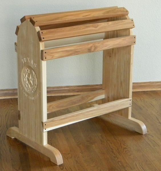 Custom Made Furniture Quality Saddle Rack Saddle Rack