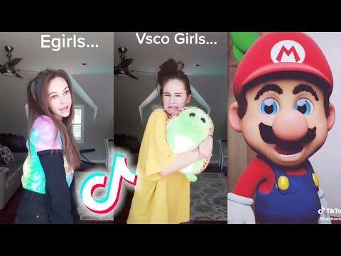 Tik Tok Memes Approved By Egirls Vsco Girls And Mario Bros Youtube Vsco Girl Memes Girl Humor