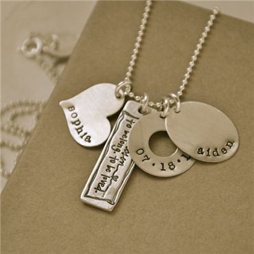 The perfect adoption necklace