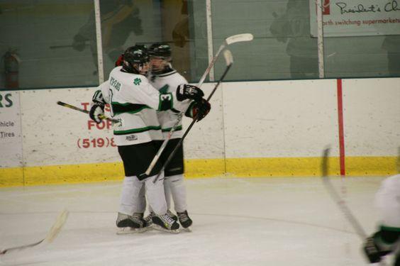 Goal Celly #imahockeydad