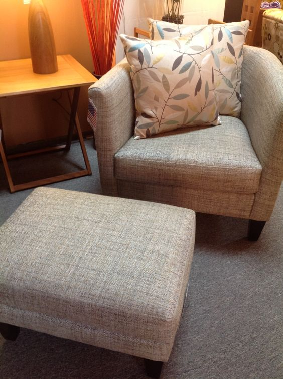 Veneto Chair & Ottoman. Available at Scanhome Furnishings in Green Bay.