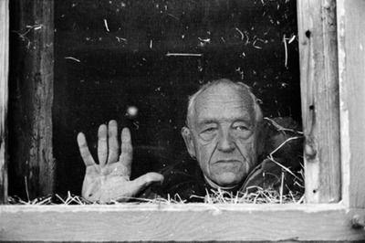 Andrew Wyeth, 1991.© David Alan Harvey/Magnum.