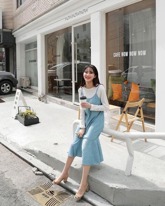 CNY蓝白穿搭 | 不喜欢新年大红大紫?那就来个【蓝白小清新穿搭】吧,让你度过小清新又阳光正向的一个新年 PART 2