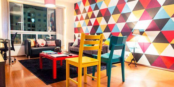 Como ter a decoração Low Poly na sua casa
