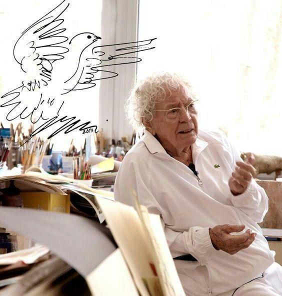 Hans Erni (1909—2015) ____ГАНС ЭРНИ_____🔸 Ганс Э́рни— швейцарский художник и скульптор. Известен росписью стен, цветными литографиями,…