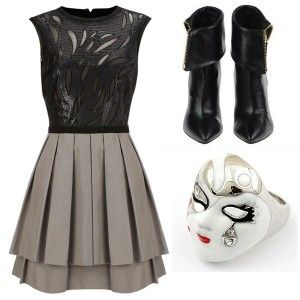 Modern feminin outfit - Gloria Agostina