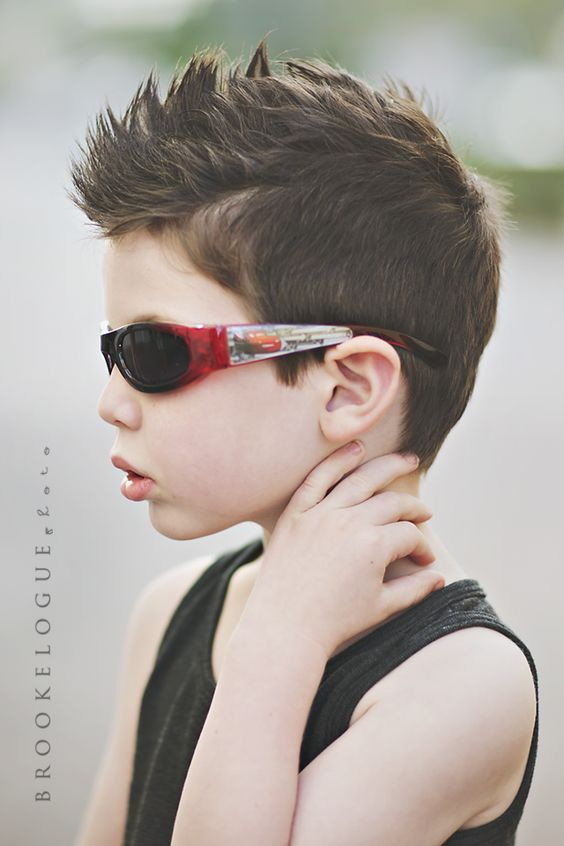 Would Love To Try This On The Boys Little Boy Hair