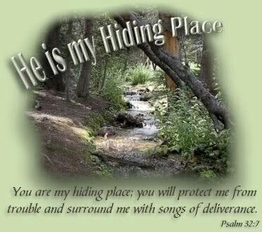 Psalm 32:7   http://www.fivefoldministryireland.com