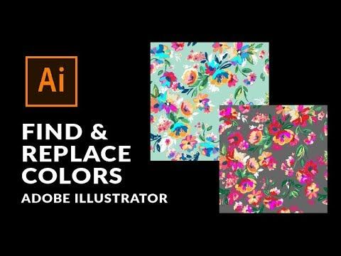 How To Select Objects With The Same Color And Change The Color In Adobe Illustra Learning Adobe Illustrator Free Illustrator Tutorials Adobe Illustrator Design