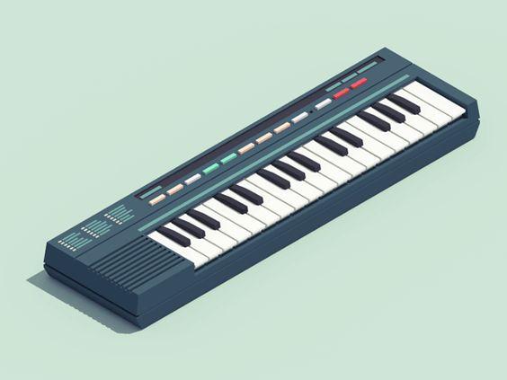 Nos appareils électroniques des années 90 en gifs animés – Guillaume Kurkdjian