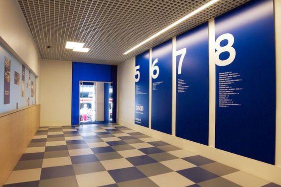 Nueva entrada a oficinas por la calle aribau en Edificio David
