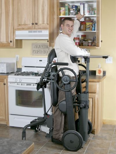 Mobile Standing Frames Promote Independence Spinal Cord