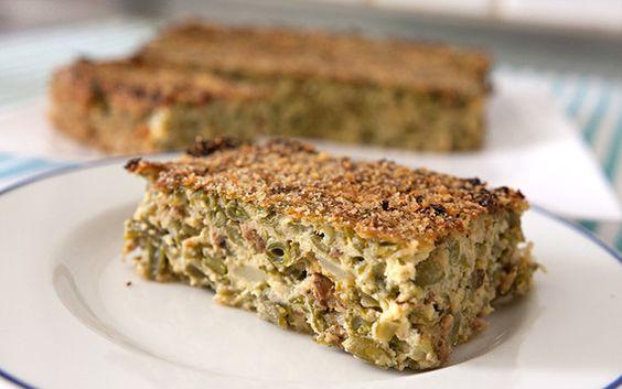 E di come far mangiare volentieri le verdure ai bambini. Una ricetta della cucina familiare di tradizione ligure.