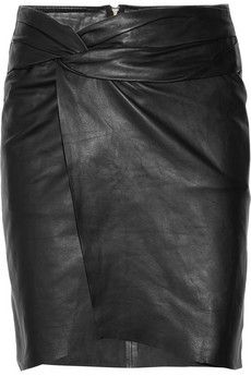 Leather Skirt~Visit www.lanyardelegance.com for beautiful Beaded Eyeglass Holders and Crystal Lanyards for women.