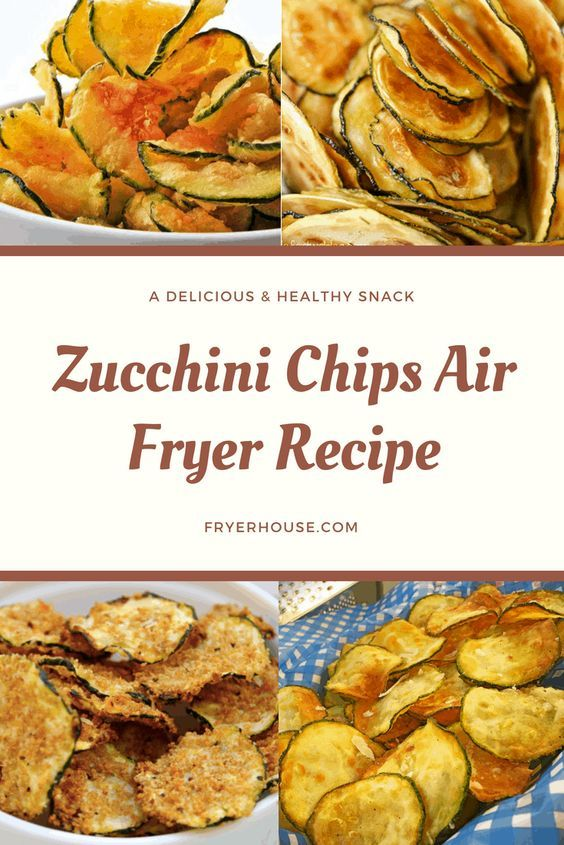 air fryer zucchini chips