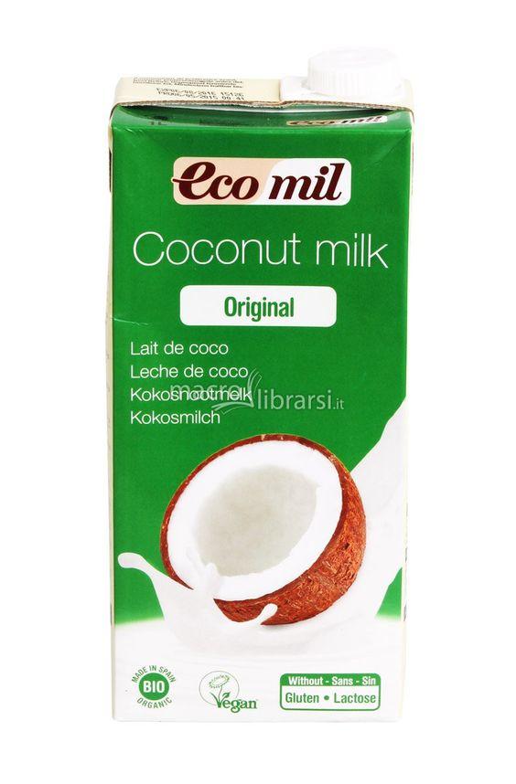 Coconut Milk - Latte di Cocco - 100% Vegano con sciroppo di Agave