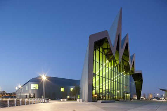 Riverside Transport Museum Zaha Hadid. Innovation and ambition in Glasgow.