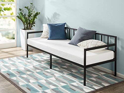 Amazon Com Zinus Newport 30 Inch Wide Day Bed Frame And Foam