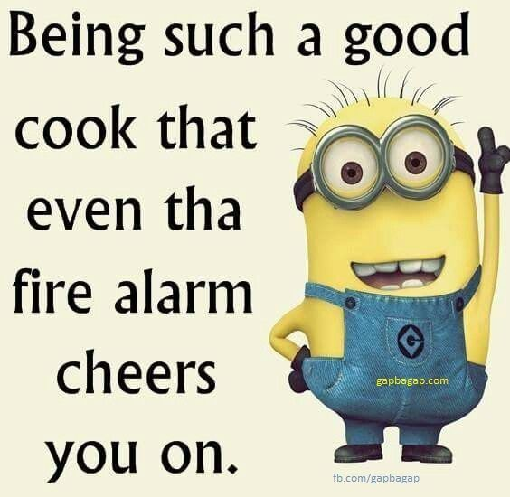 Funny Minion Joke About Cooking…