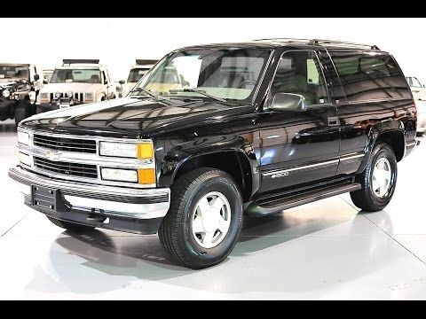 Davis Autosports Partial Restoration Gorgeous 2 Door Tahoe Yukon For Sale Youtube