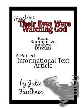 analysis essay on their eyes were watching god