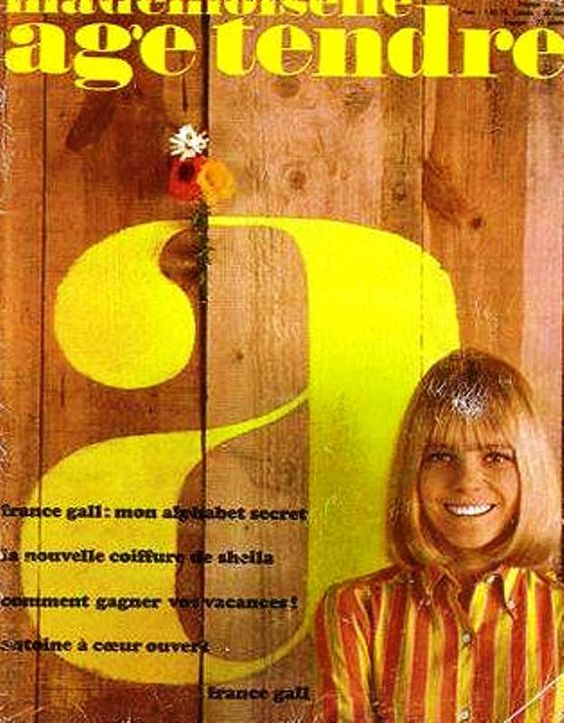 Mademoiselle Age Tendre, France Gall