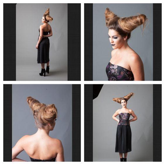 Photo shoot at @thelabasalon hair by Alex