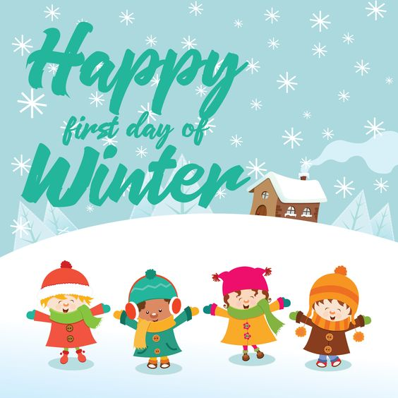 It's only the first day but we are hoping everyone has a wonderful winter!